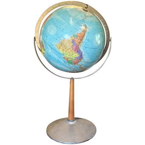 replogle globe on stand for sale at 1stdibs