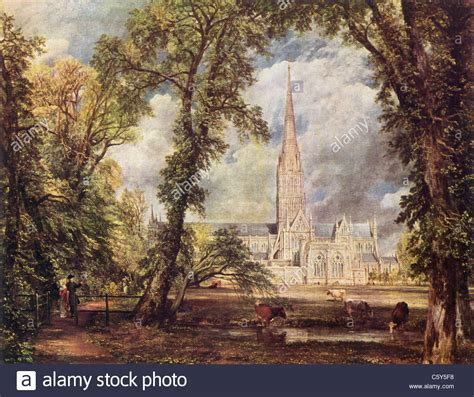 by john constable salisbury cathedral painting by john constable 1776 1837 quot salisbury