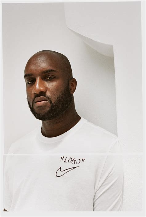 Virgil Abloh Virgil Abloh And Nike Announce New Design Project The Ten