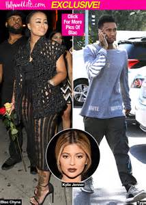 blac chyna amp tyga back on she invites him home after