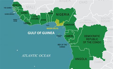 africa map gulf of guinea nigeria pledges to help strengthen gulf of guinea