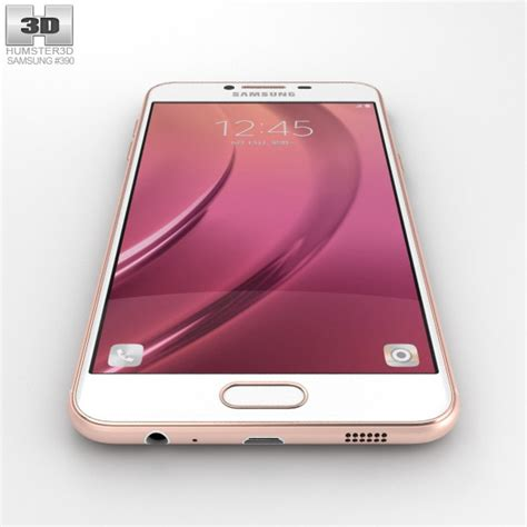 Samsung Galaxy C5 Gold samsung galaxy c5 gold 3d model humster3d