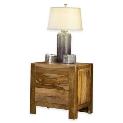 Bed Bath And Beyond Nightstand by Atria Nightstand In Brown Bed Bath Beyond