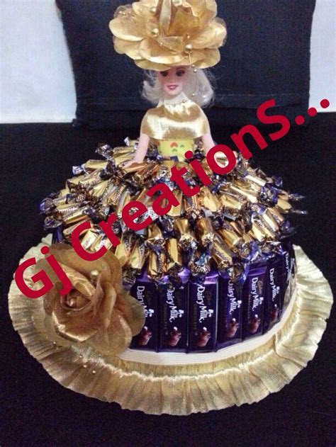Chocolate doll   Trousseau packings . By Gj Creations