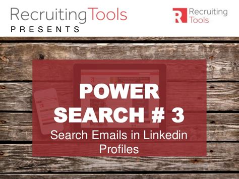Linkedin Email Search Power Search 3 Search Emails In Linkedin Profiles