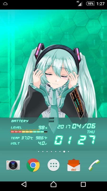 Z Anime Apk by Miku 2d Anime Livewallpaper Apk Free