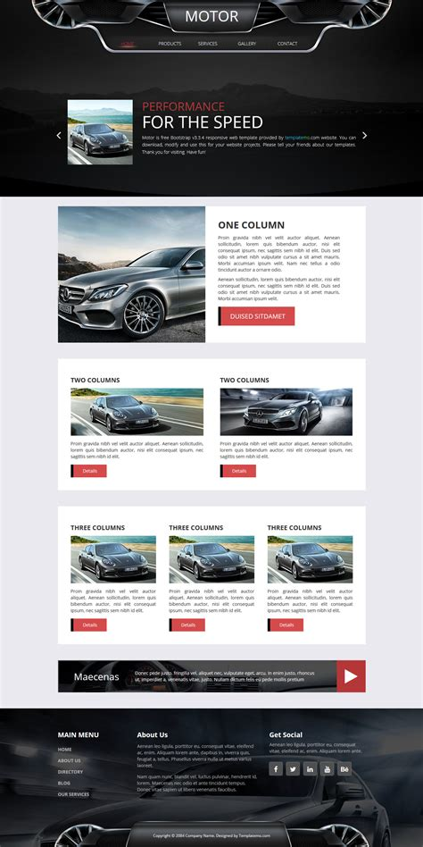 motorsport templates template 463 motor