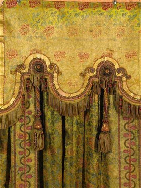 antique window treatment antique draperies