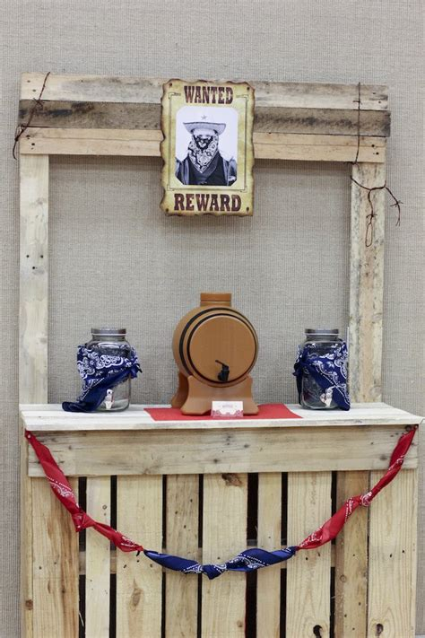 a western themed cub scout blue and gold banquet kara s party ideas western themed cub scout blue gold