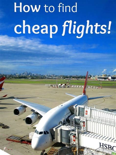 find cheap flights  tips   websites