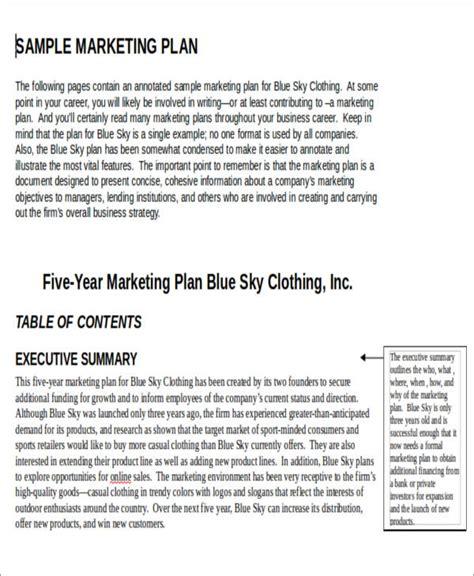 digital marketing plan template doc 12 sle digital marketing plan exles in word pdf