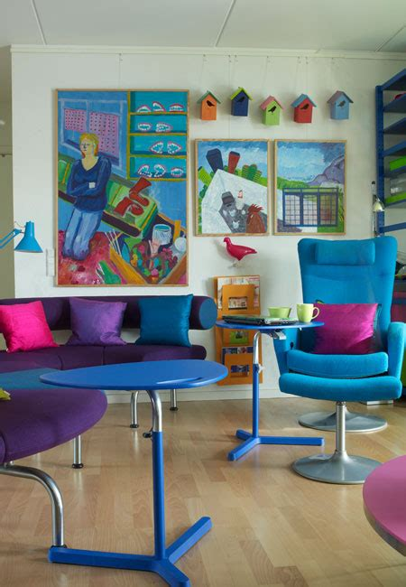 Colorful Chairs For Living Room Colorful Apartment Design With Interior In Organized Chaos Digsdigs