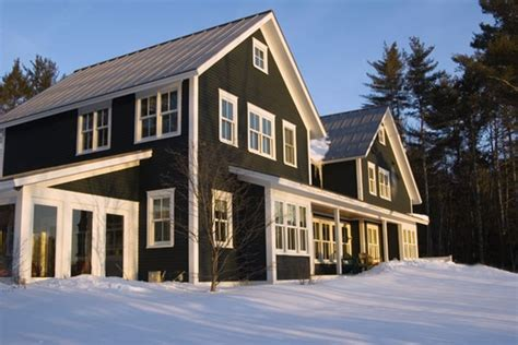 black siding houses black siding with white trim my dream home pinterest
