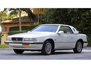 Chrysler Tc Maserati Classifieds For Classic Chrysler Tc By Maserati 11 Available