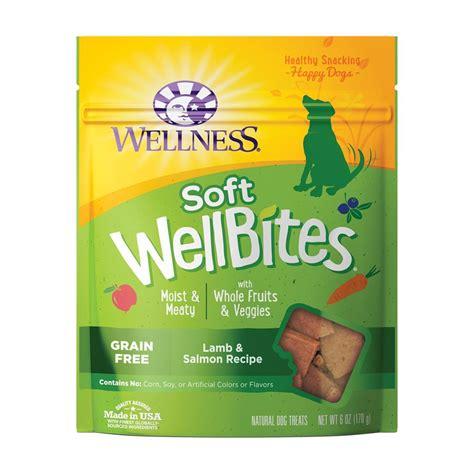wellness puppy treats ren s pets depot wellness wellbites salmon soft treats 6 oz