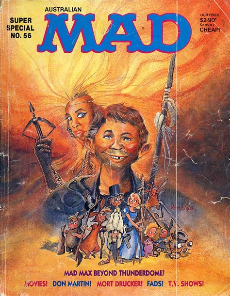 mad for mad max publicity material archive entertainment