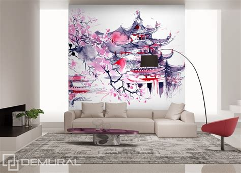 japanese wallpaper for walls uk land of the rising sun oriental wallpaper mural photo