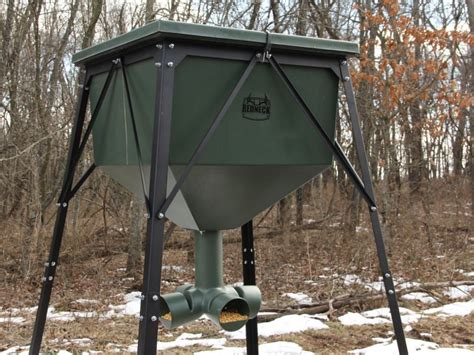 redneck hunting blinds  fdrgr lb gravity feeder