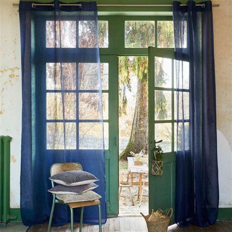 Rideaux Bleu Nuit by Je Veux De Beaux Rideaux Pour L 233 T 233 Rideaux Curtains