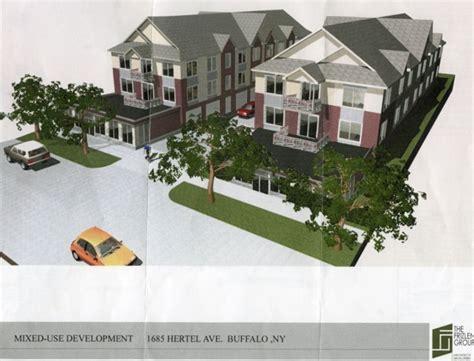 Parkside Apartments Buffalo Ny Hertel Avenue Infill Project Planned Buffalo Rising