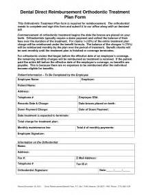 Dental Treatment Plan Template by Doc 585604 Treatment Plan Template 12 Treatment Plan
