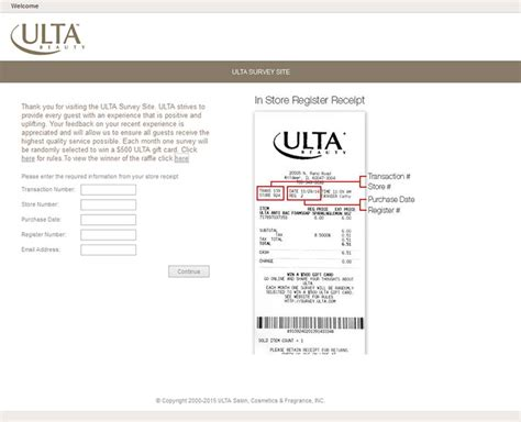 Ulta Guest Services Gift Card - survey ulta com ulta guest satisfaction survey