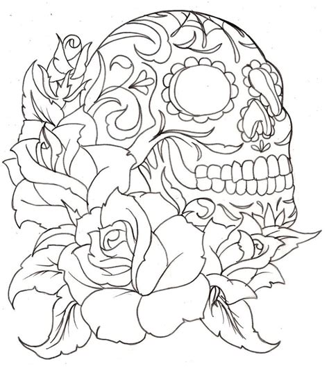unique coloring pages unique cool coloring pages of skulls image coloring
