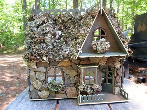 enchanted doll house enchanted doll house enchanted fairy house doll house made of stone and lichen 75