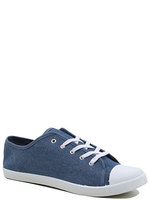 denim canvas shoes george at asda