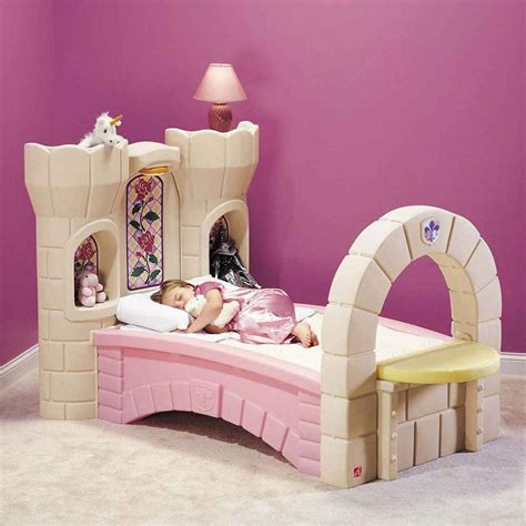 princess bed castle toddler bed feel the home
