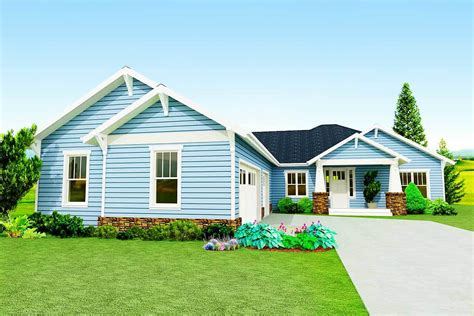 ranch house plans with courtyard garage home design and craftsman ranch with courtyard entry garage 50145ph
