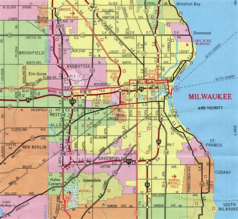 Milwaukee Wisconsin Records Interstate Guide Interstate 794 Wisconsin