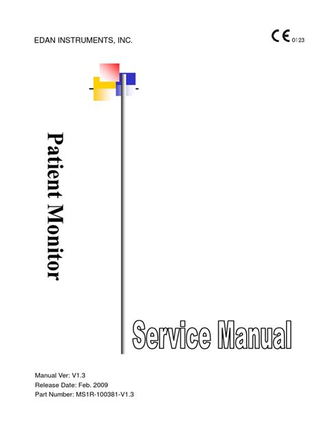 Patient Home Monitoring Midas Letter ms1r 100381 patient monitor service manual v1 3