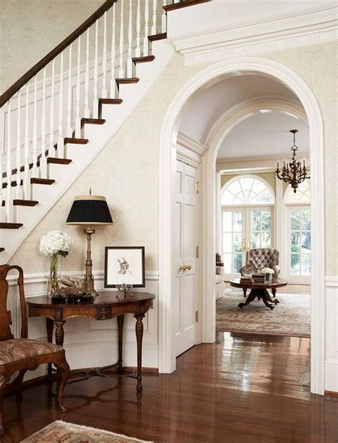 Wainscoting Foyer by Entryways With Wainscoting Homes Decoration Tips