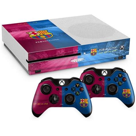 barcelona xbox one skin f c barcelona xbox one s skin bundle for only 163 30 37 at