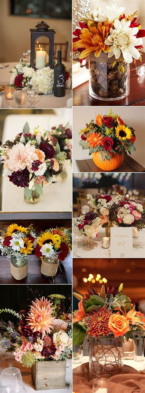 country wedding centerpiece ideas 70 amazing fall wedding ideas for 2017 page 2 of 4 oh