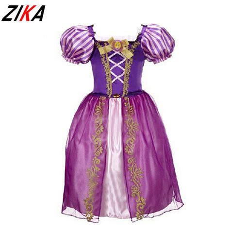 Gaun Dress Kostum Rapunzel Ungu buy grosir princess kostum from china