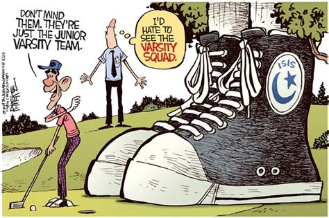 political satire cartoons obama rick mckee the augusta chronicle isis junior varsity