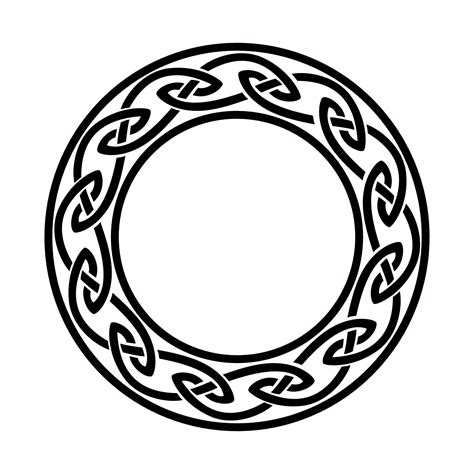 tattoo of celtic circle infinity doorway tattoo custom