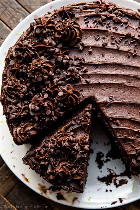 Chocolate Cakes by Chocolate Zucchini Cake Sallys Baking Addiction