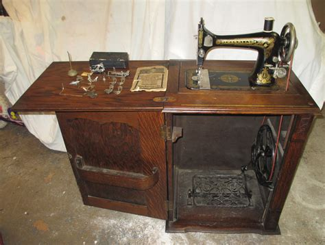 treadle sewing machine cabinet avie home