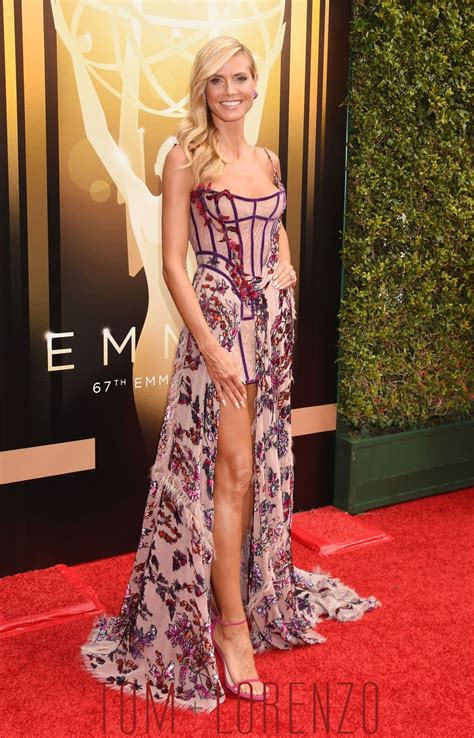 Sabrina Dress Atelier heidi klum in atelier versace at the 2015 creative arts