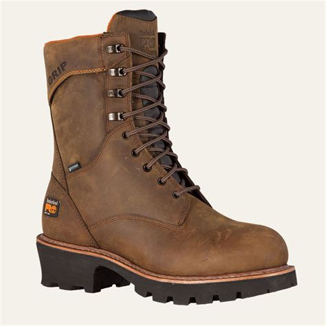 soft boots for timberland pro boots mens 9 quot rip saw soft toe logger