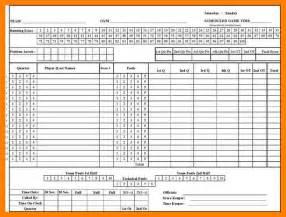 12  printable basketball scoresheet   packaging clerks