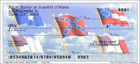 Background Check Flags Bonnie Blue Mini Sticker 1 00 Olde South Limited Confederate Checks Merchandise