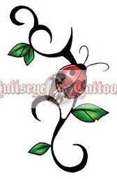ladybug tribal tattoo 1000 ideas about ladybug tattoos on tattoos