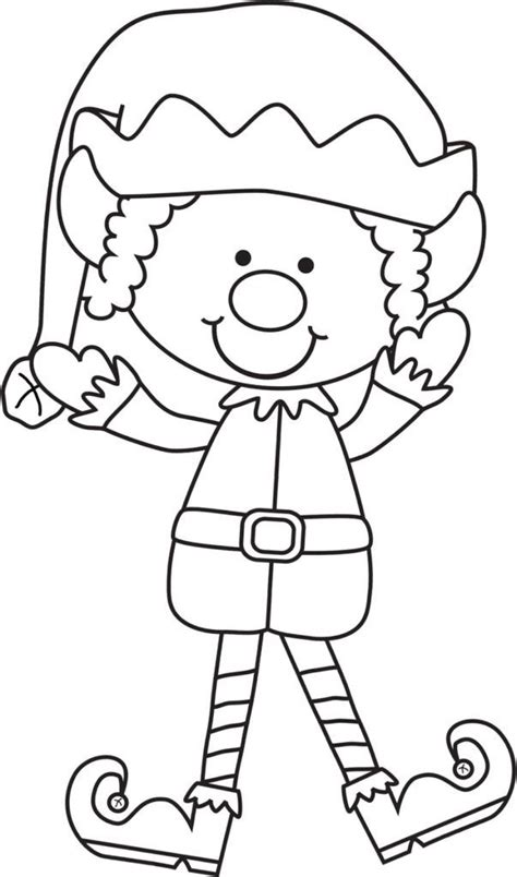 printable elf coloring picture elf on the shelf printable coloring pages coloring home