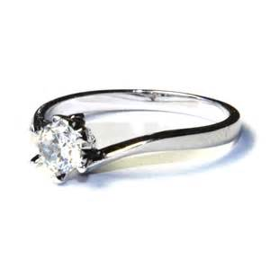 promise rings curved solitaire promise ring white cubic zirconia beautiful promise rings