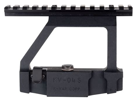 ak side mount picatinny rail arsenal inc optimized picatinny style scope mount ak 47