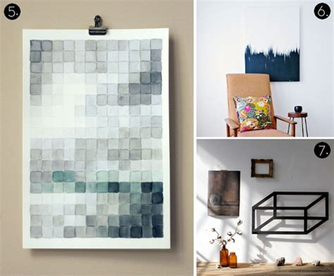 modern diy wall roundup 10 more affordable diy modern wall projects